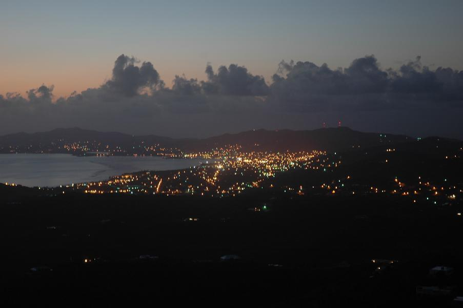 Christiansted at dawn