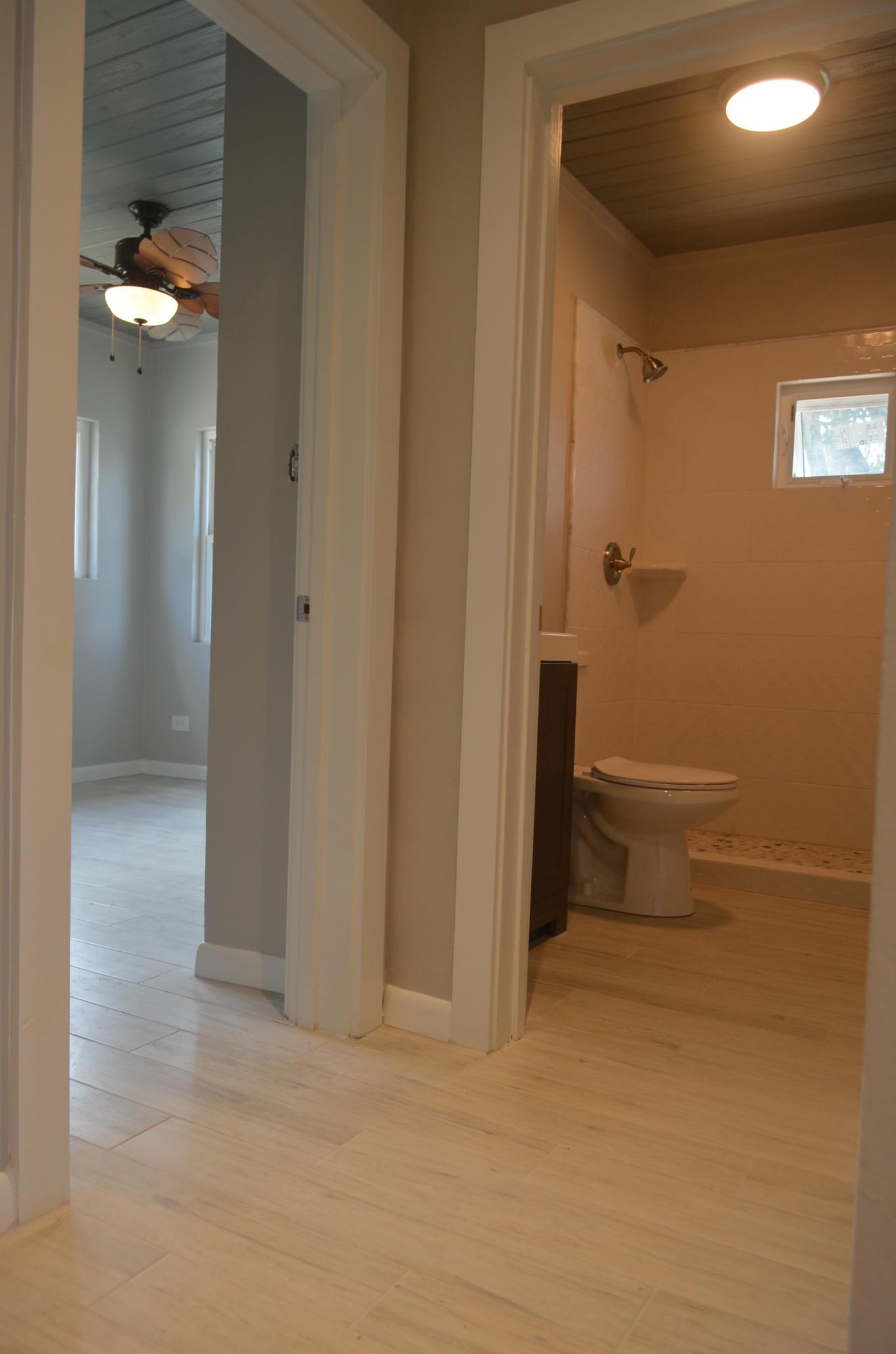 Hall to Bedroom & Main Bath