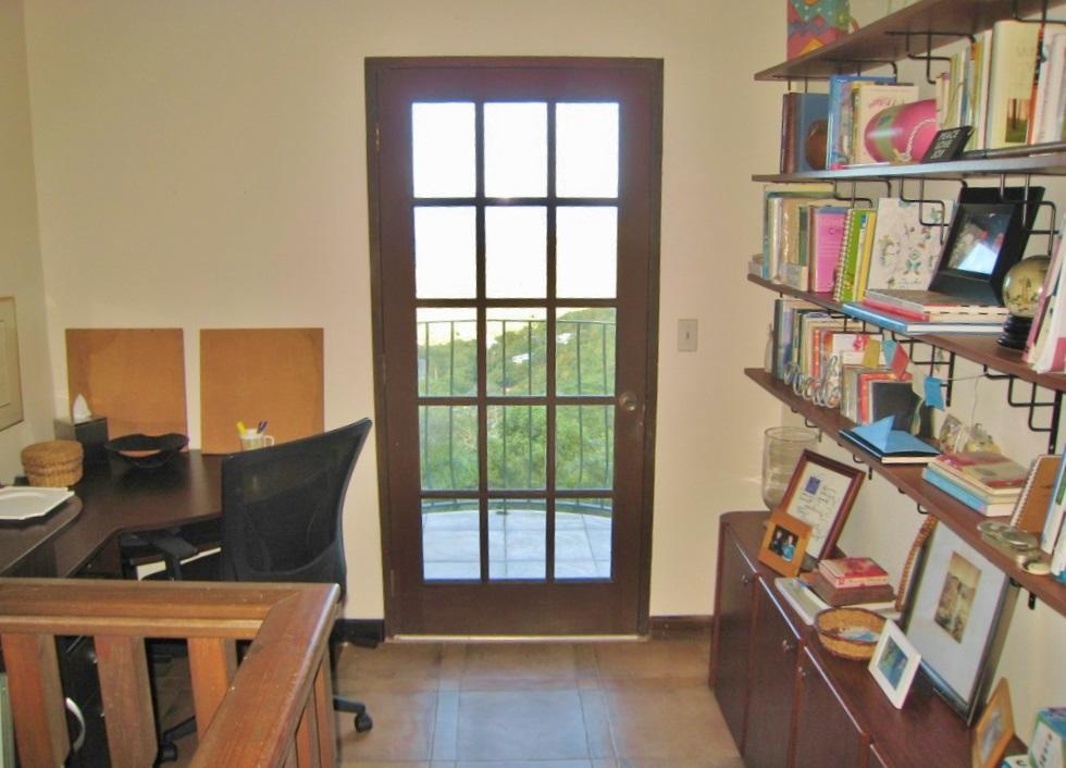 office outside master bedroom