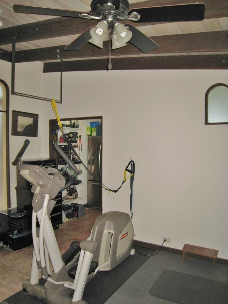 workout room/bedroom