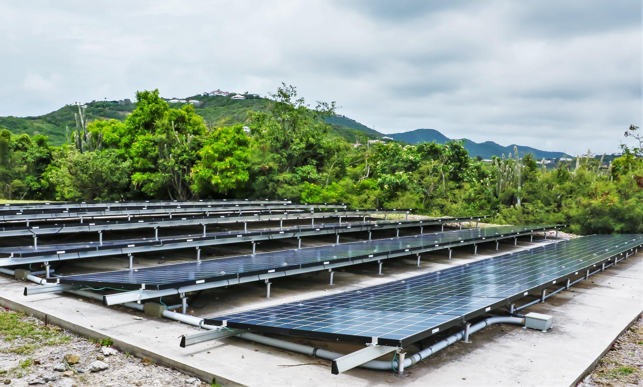 Immaculately Maintained Solar Field