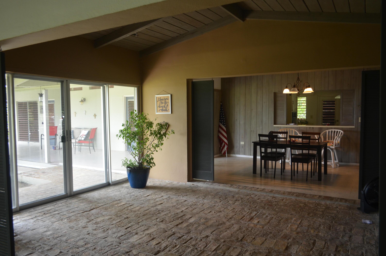 Foyer with Danish brick