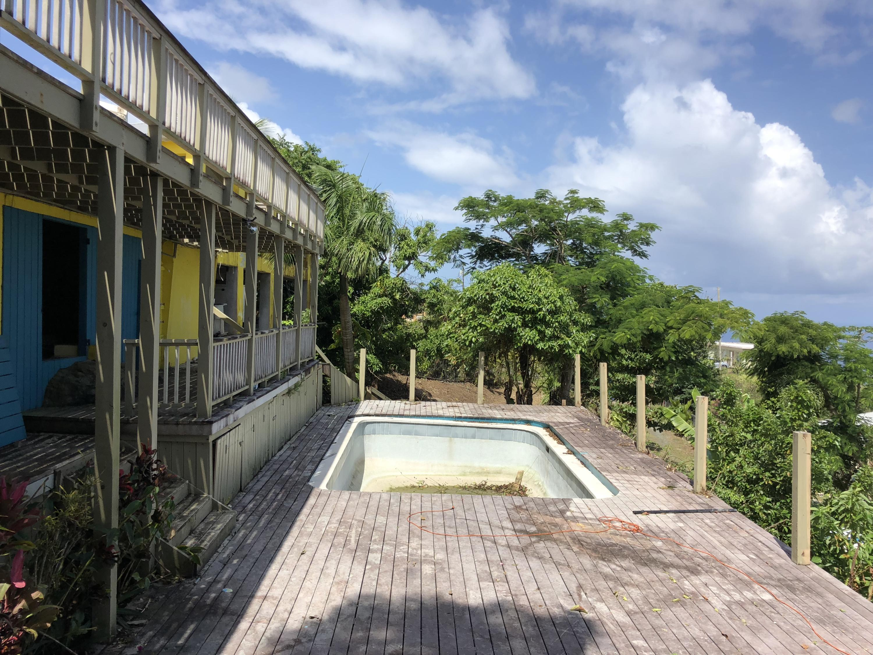 Pool and Lower Deck