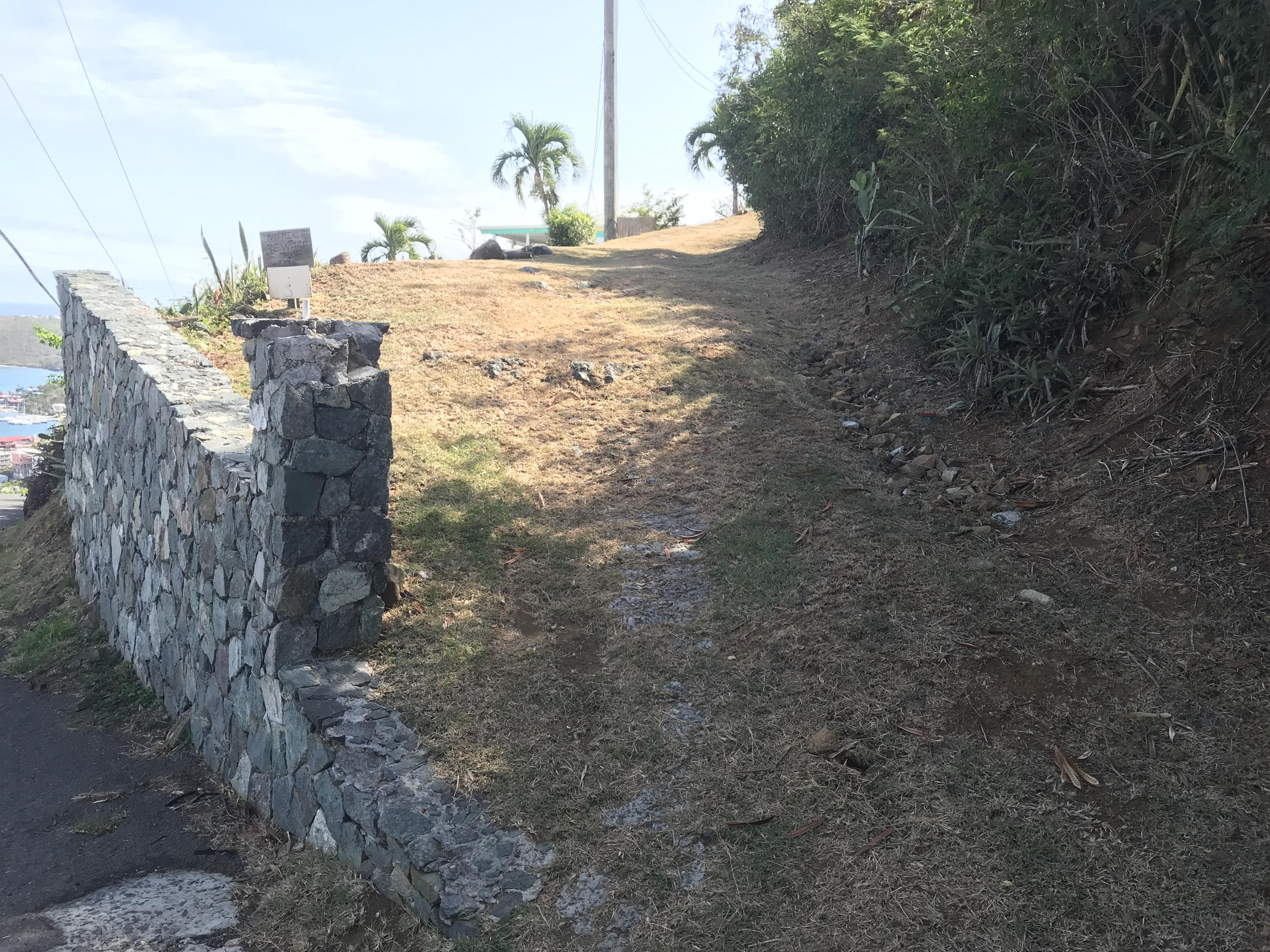 Easement to possible additional parking