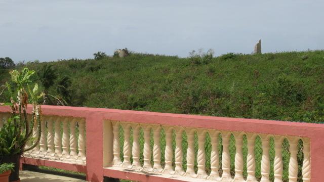 Patio, View of Plantation Ruins