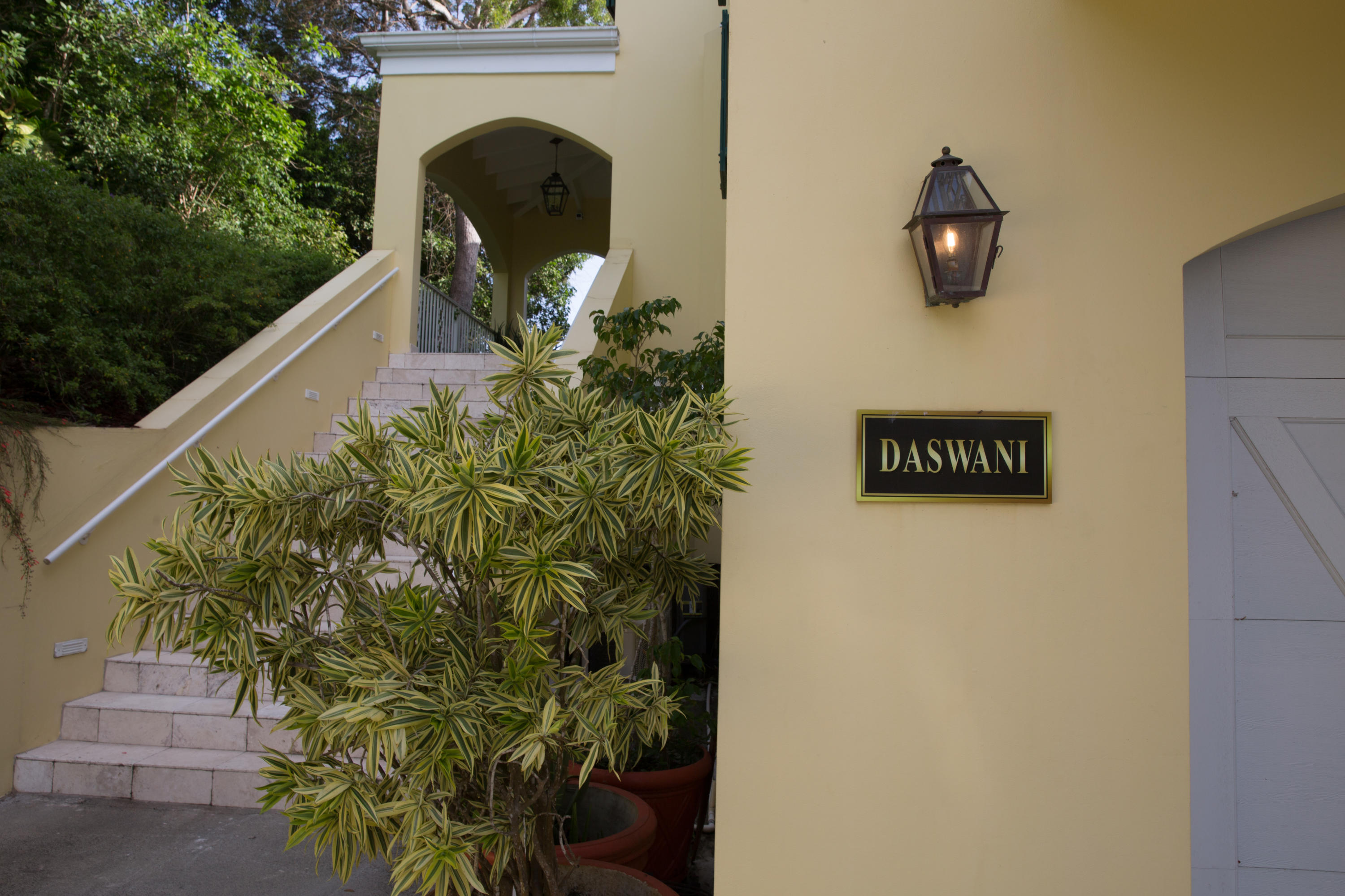 An outside entry