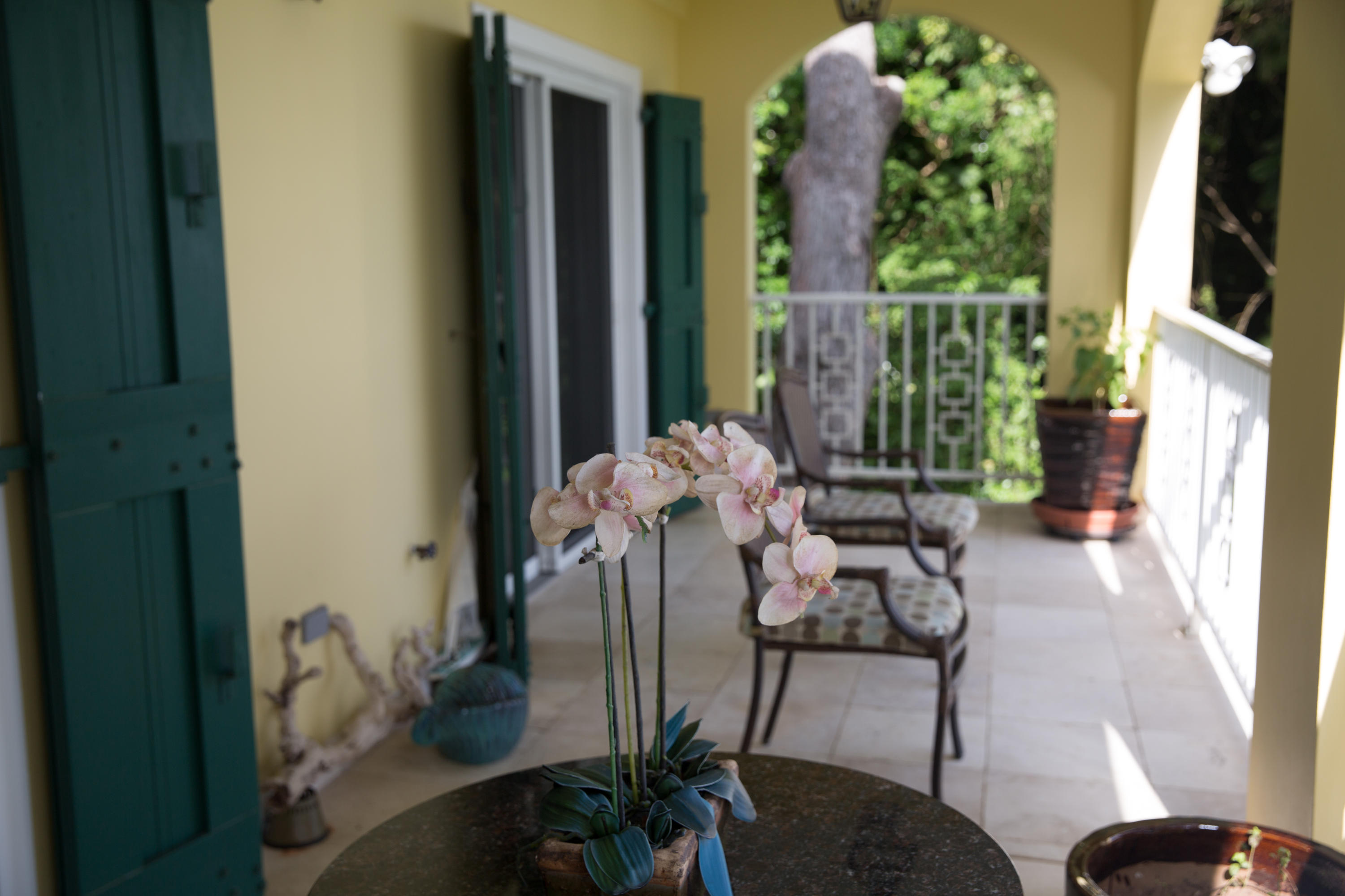 One of several patios