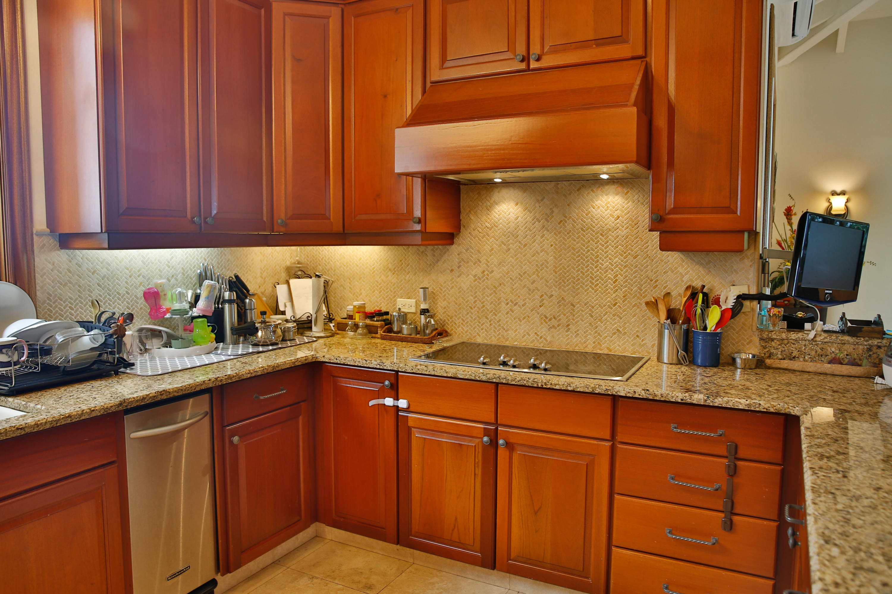 Any Chef will like this kitchen.