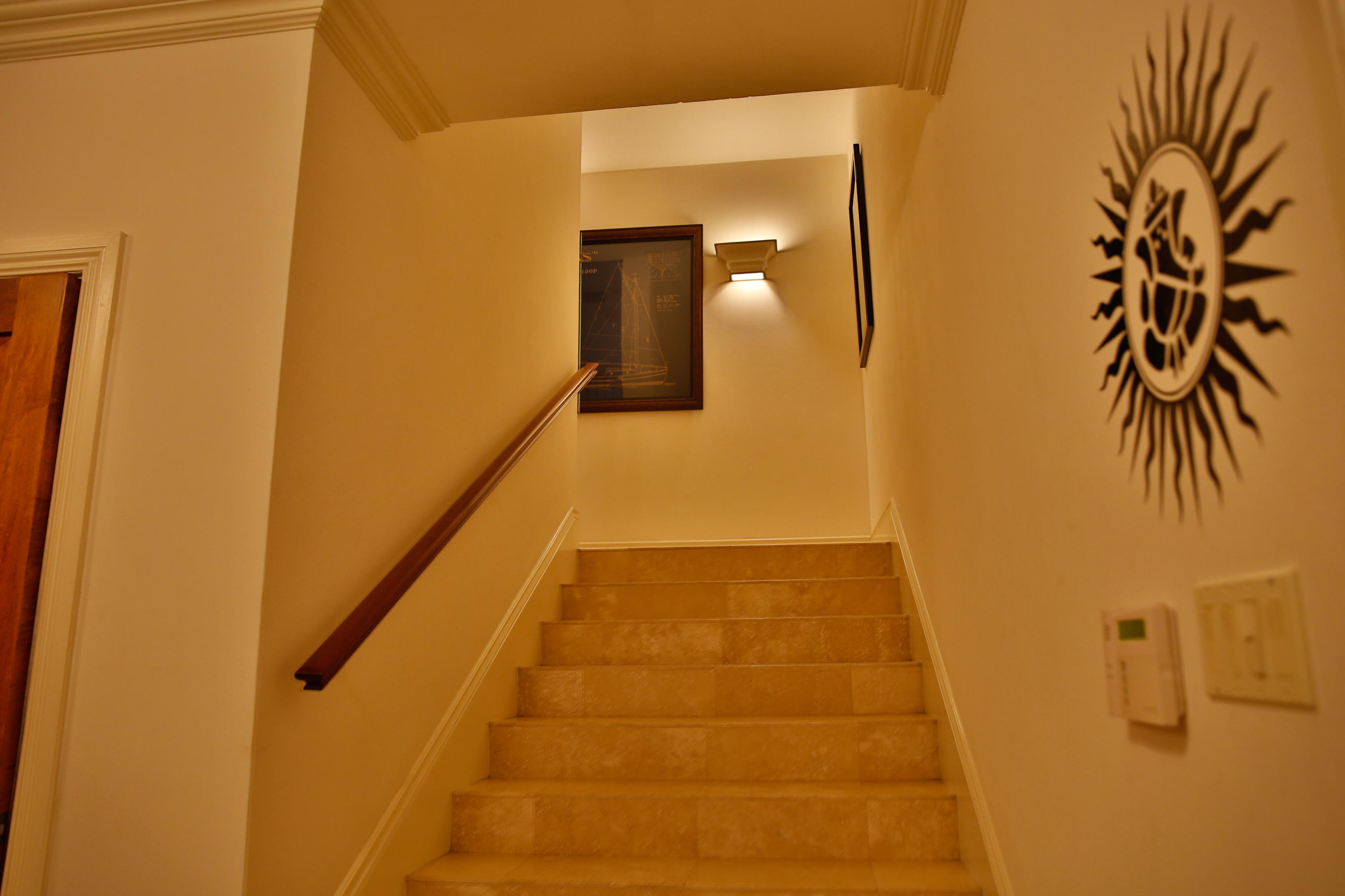 Stairs to 2nd. Level