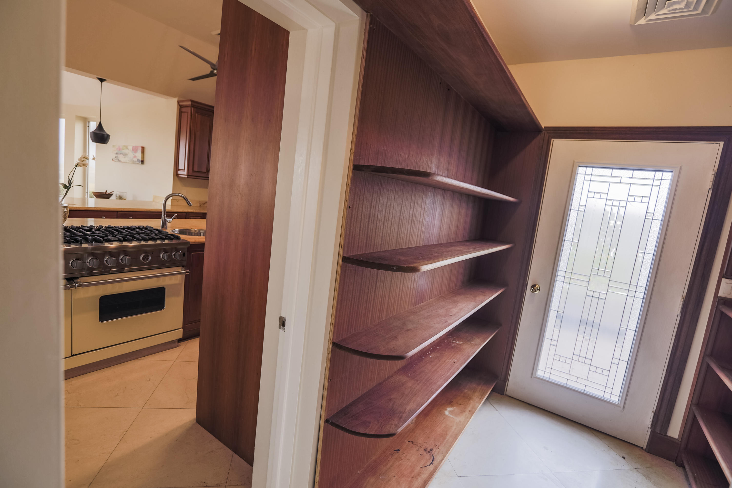 Huge Pantry off of Kitchen