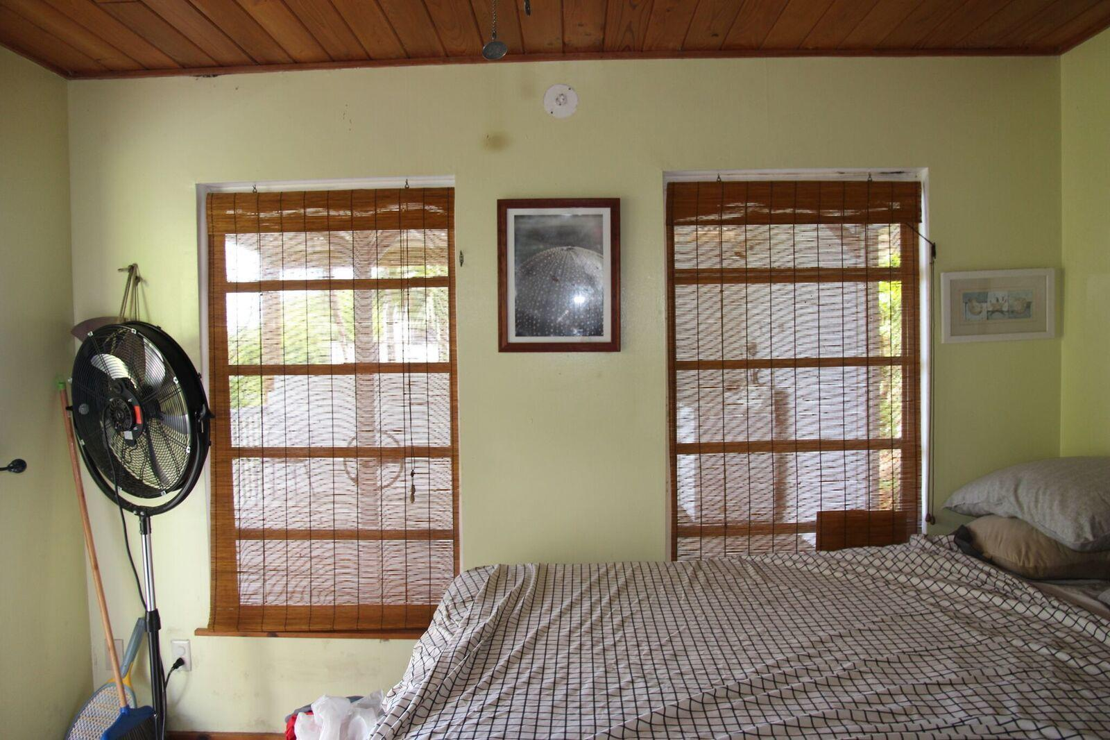 Bedroom with split A C