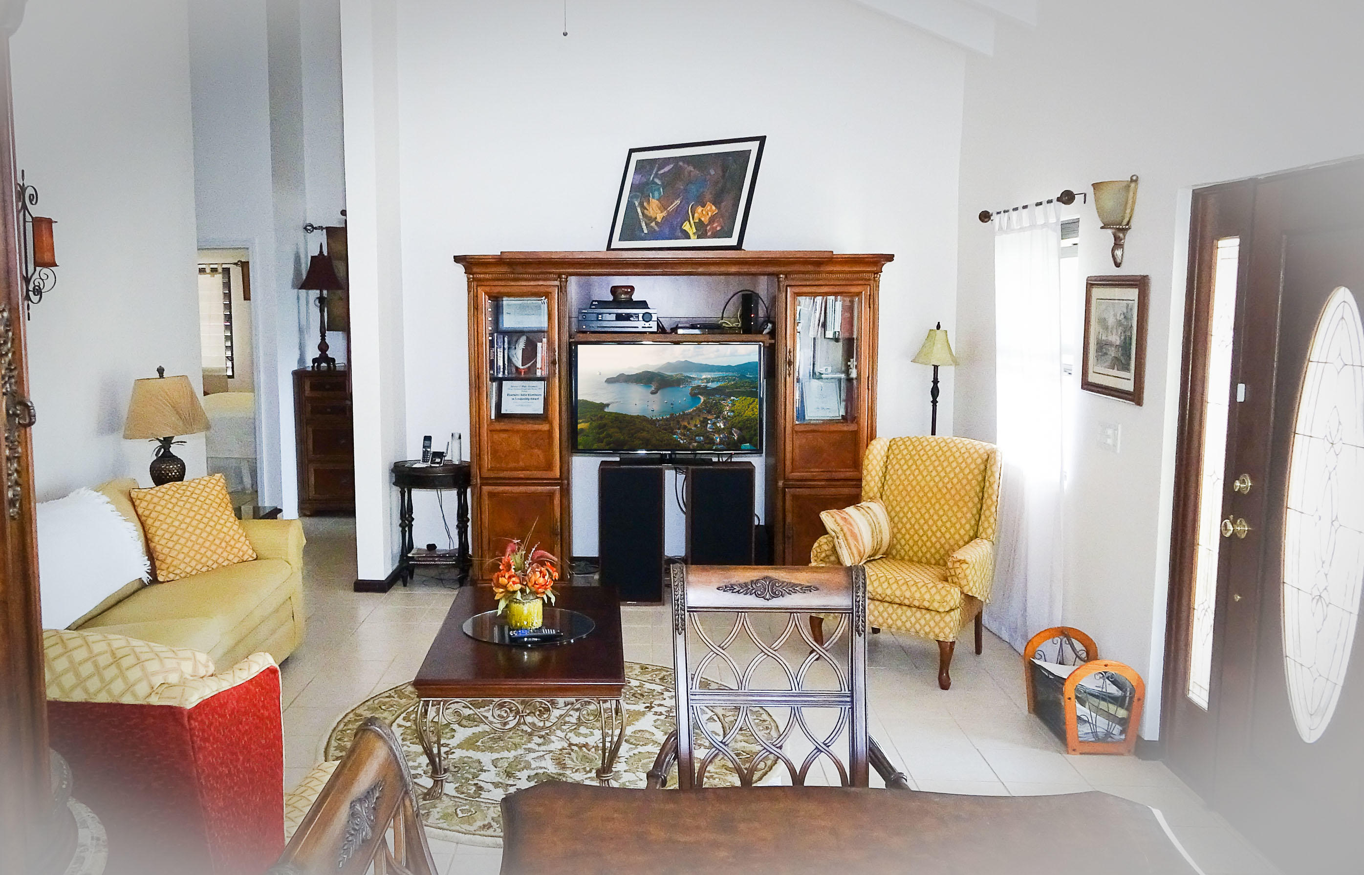 4-Living Room Entertainment center