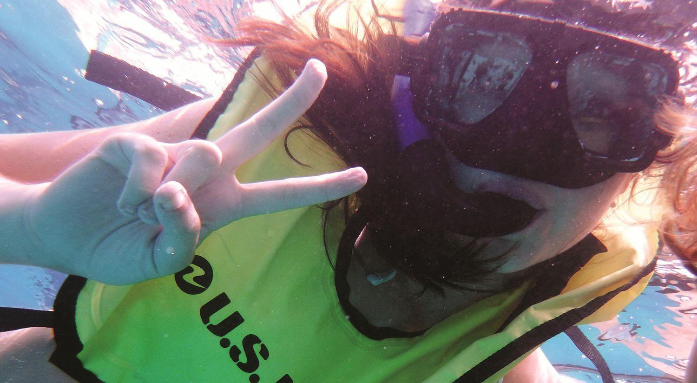 Snorkeling in the Islands