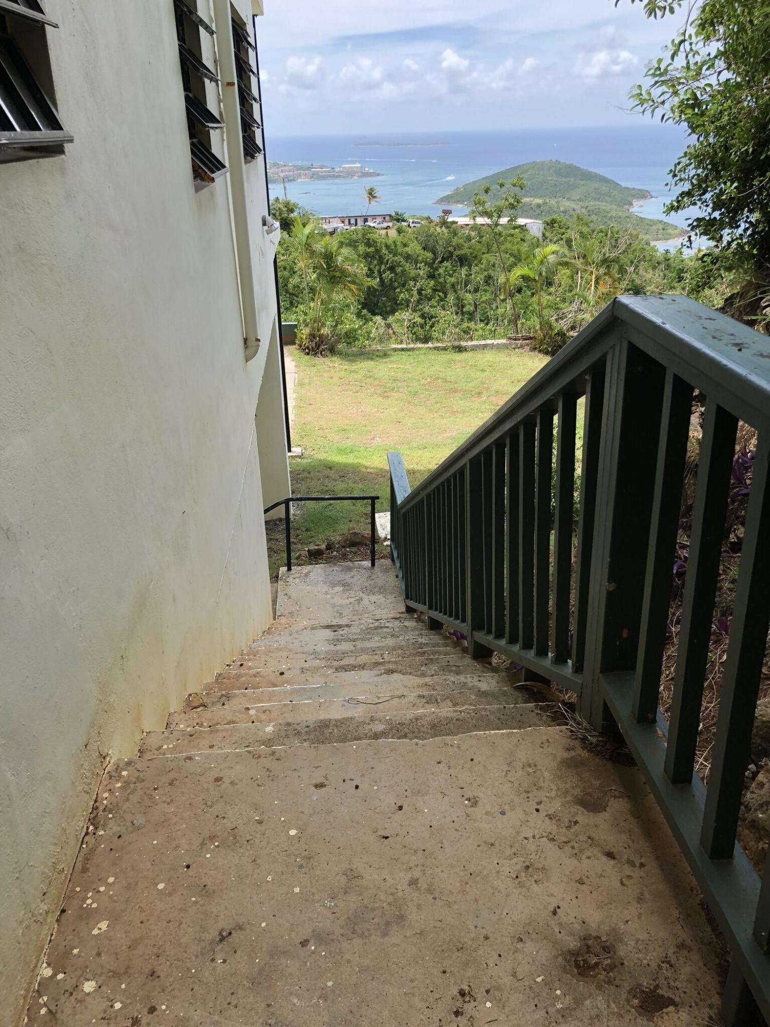 Stair case with a view