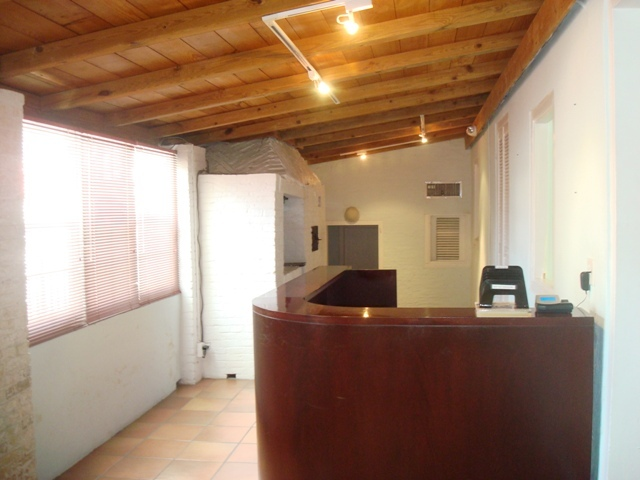 upstairs office reception