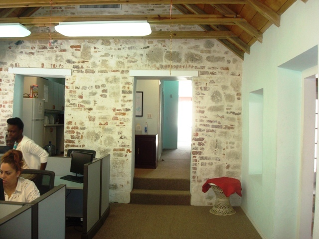 upstairs office