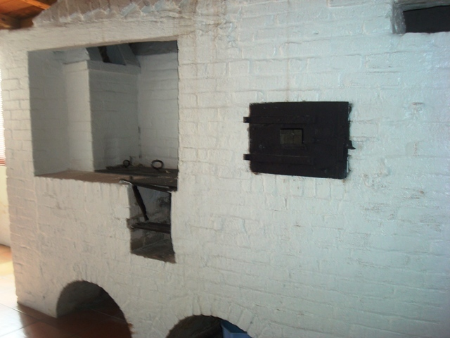 Colonial era brick oven