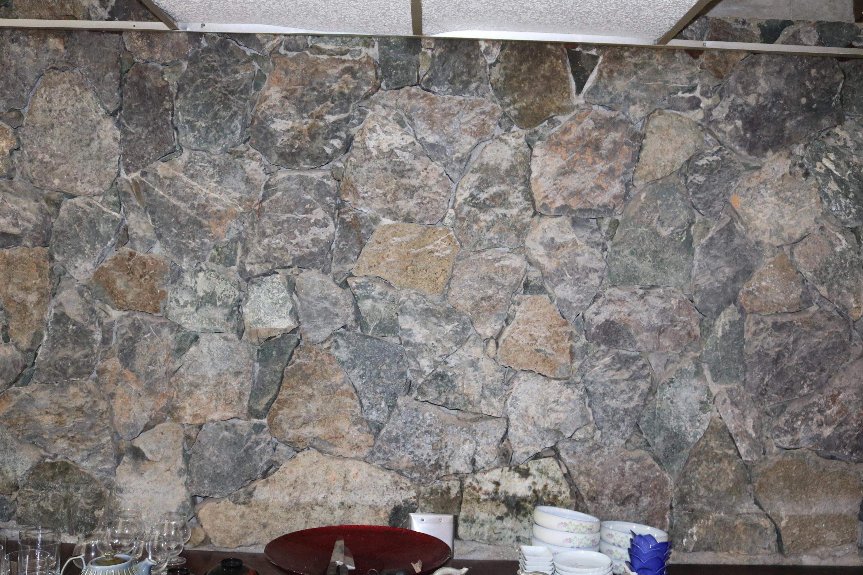 Bluebit Stone Wall Detail