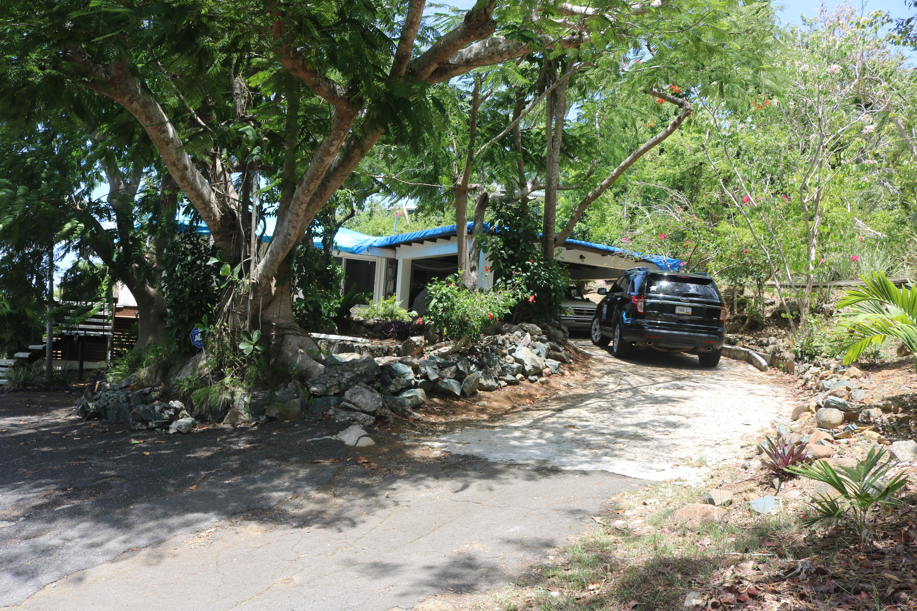 Carport and Lower Parking