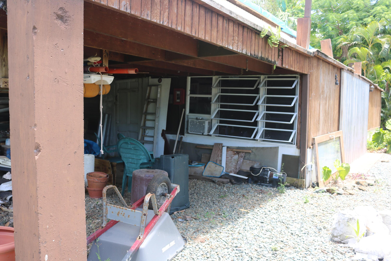 Covered Workshop Below Deck