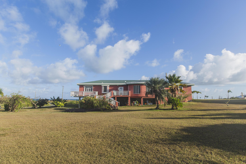 side of house ocean
