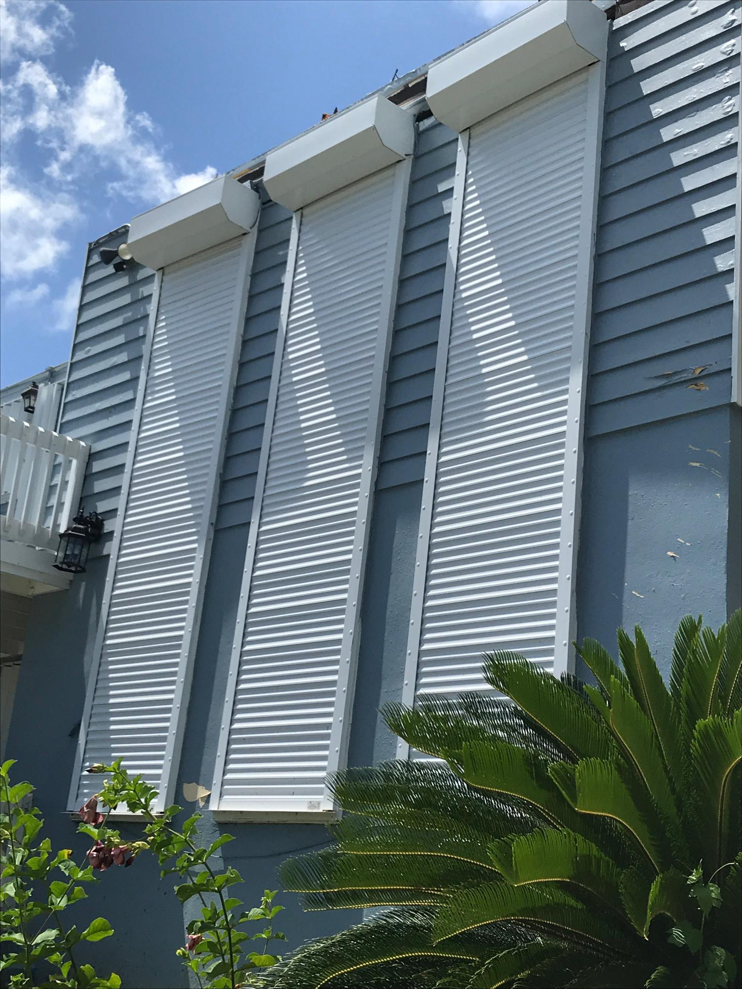 Shutters Remain in Place