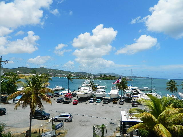 View towards Christiansted Town and Fort