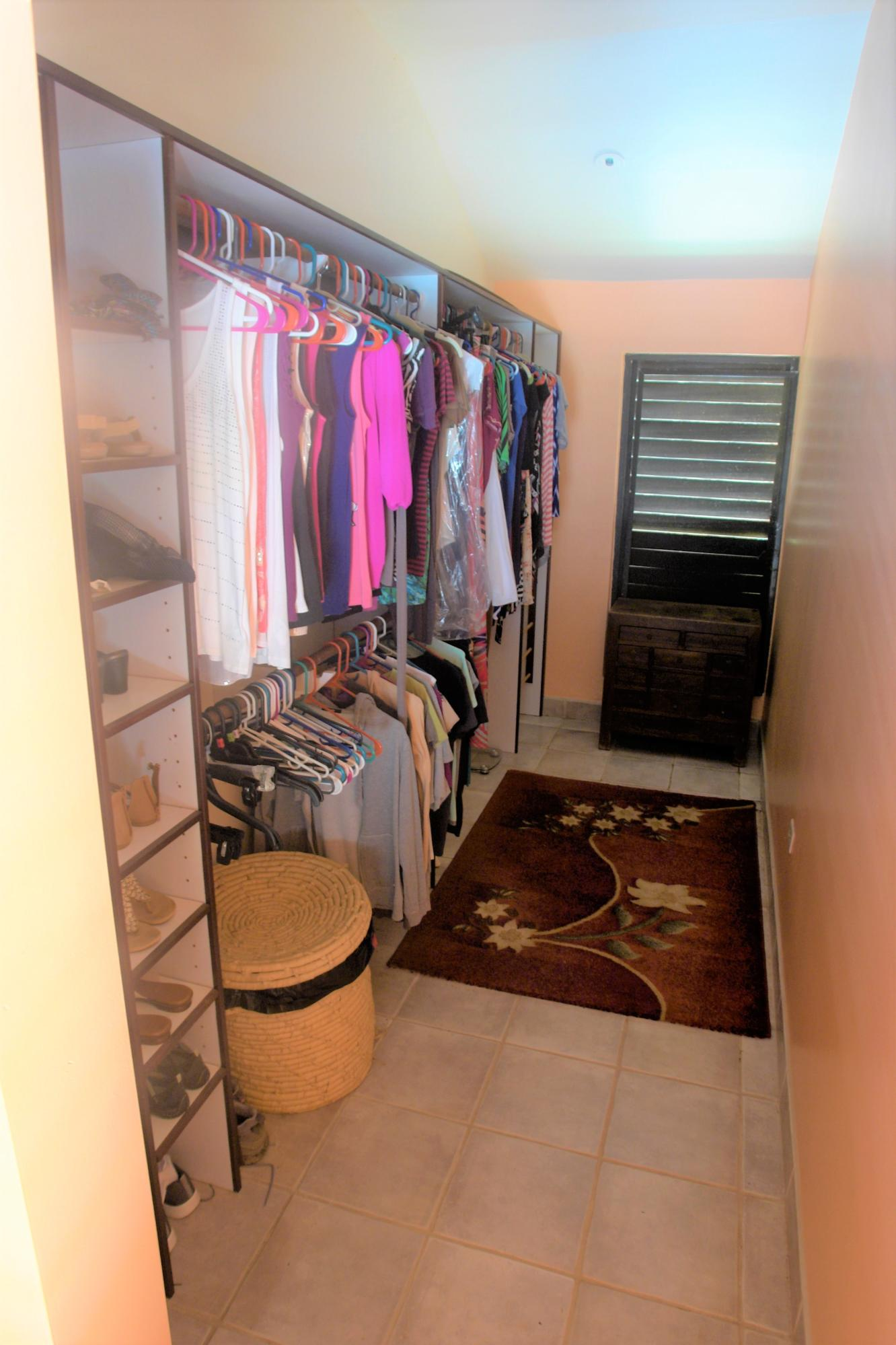 gigantic walk in master closet