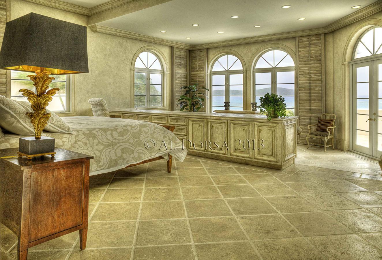Master bath 2 with views