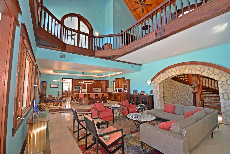 Greatroom to upper level loft