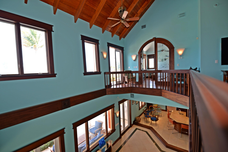 Upper loft to master and greatroom below