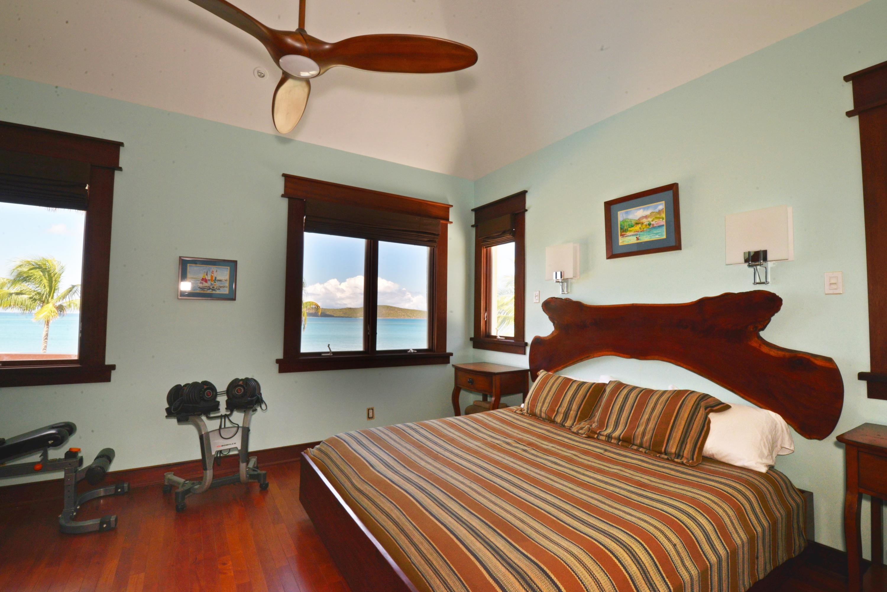 Master suite with Buck Island views