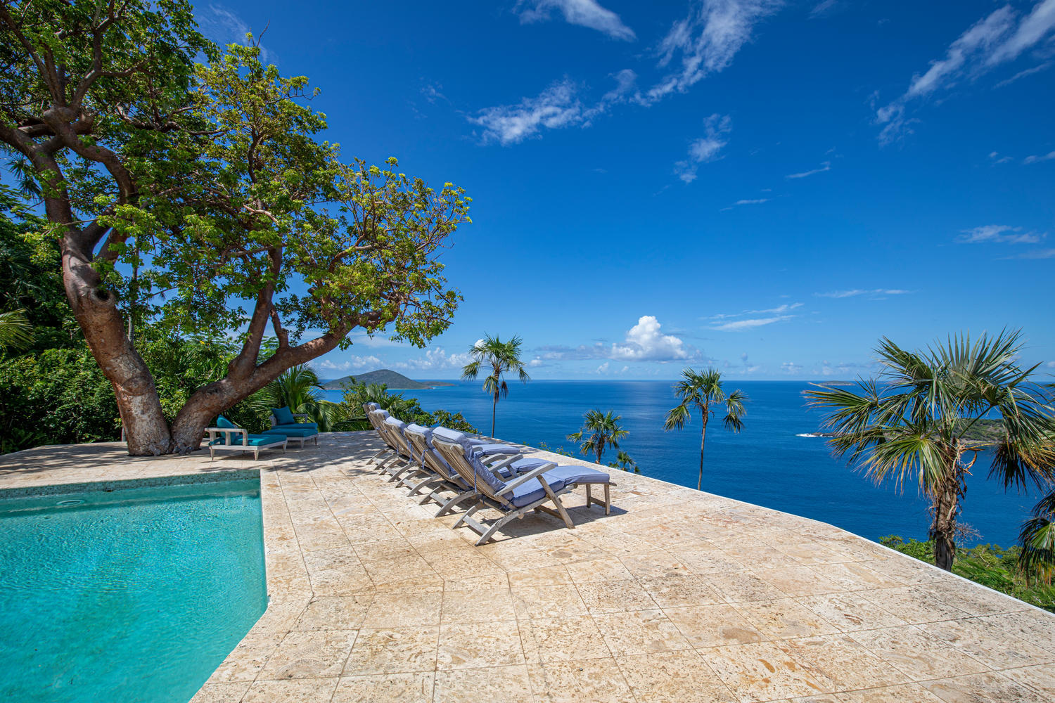 Sweeping Caribbean Views