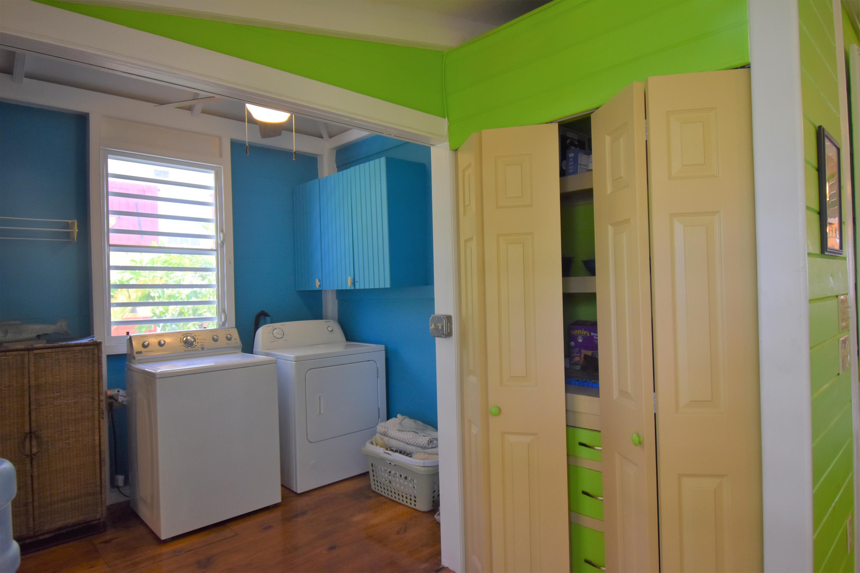 Laundry and Pantry