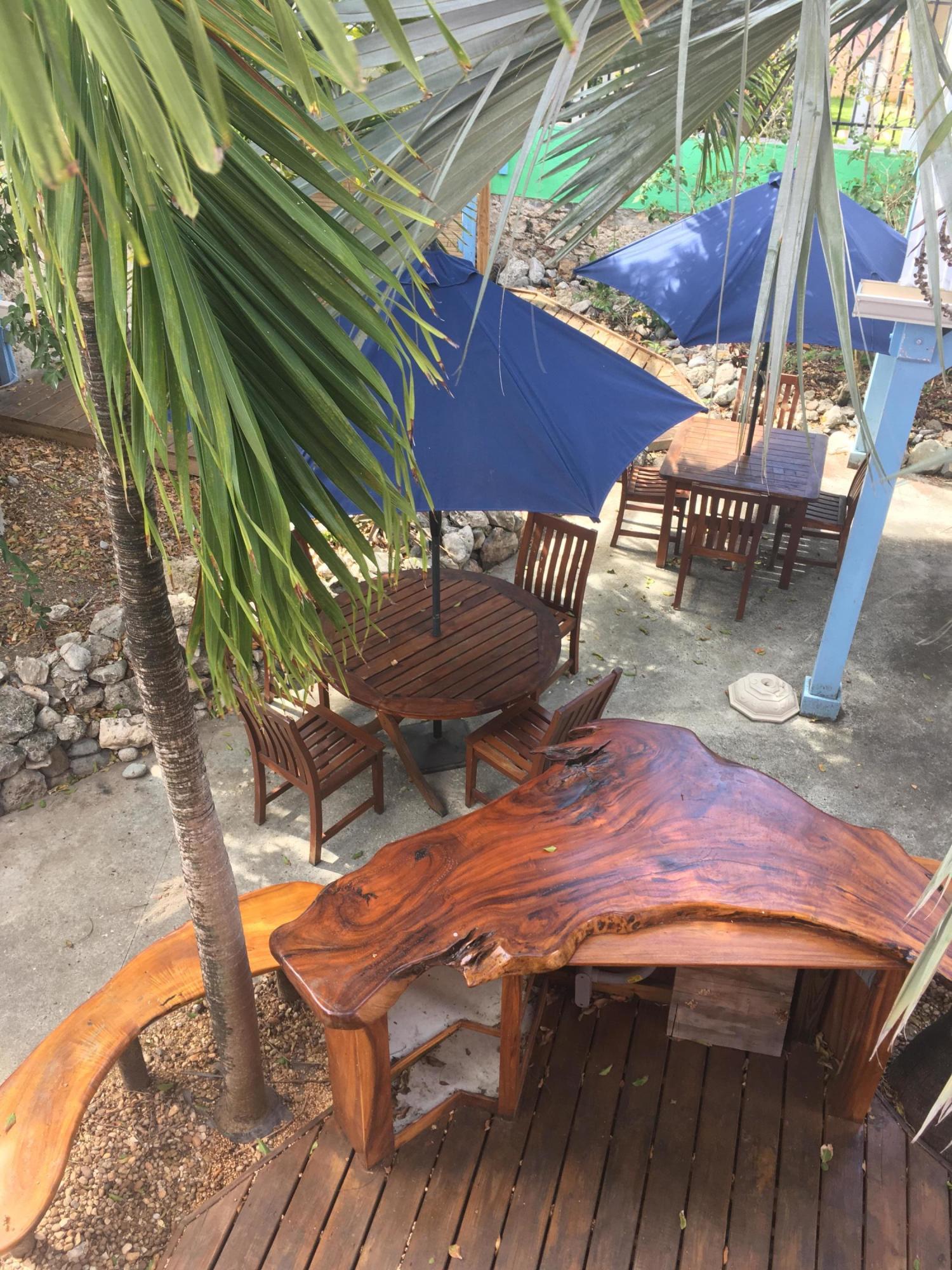 17 Strand deck from upper level - mahoga