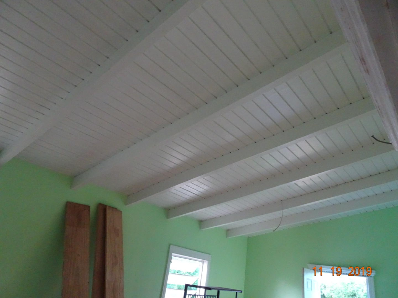 Ceiling is clean