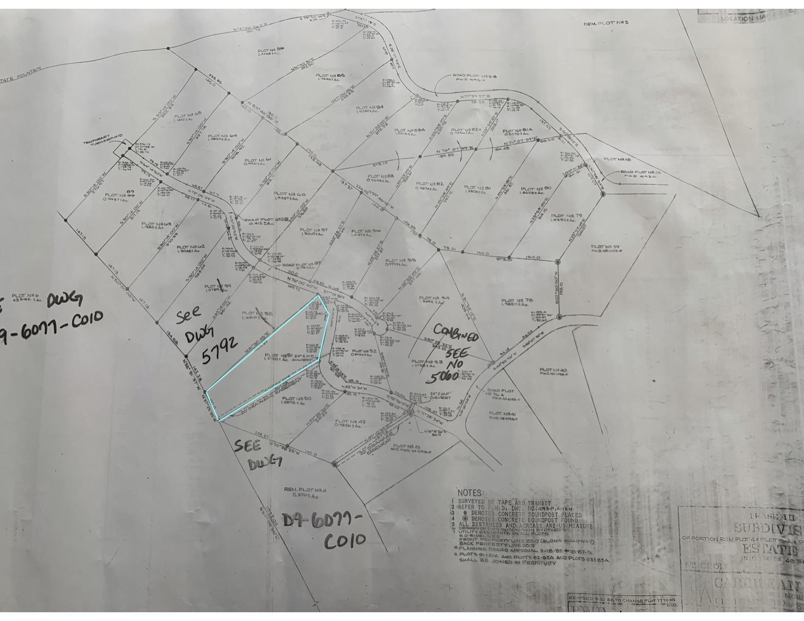 OLG Map 4193-J for 51 River