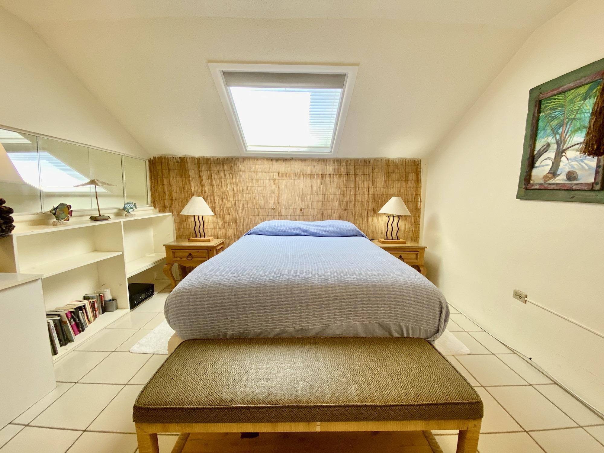 Loft Bed 1 with skylight